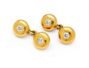 Jewels (diamond cuff links)