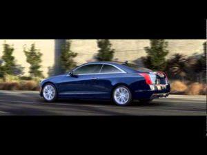 Cadillac XTS blue